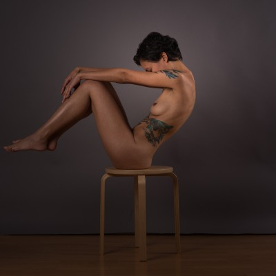 Fran Santucci 0073 - 'On A Chair' Series - © Tekahem, 2016