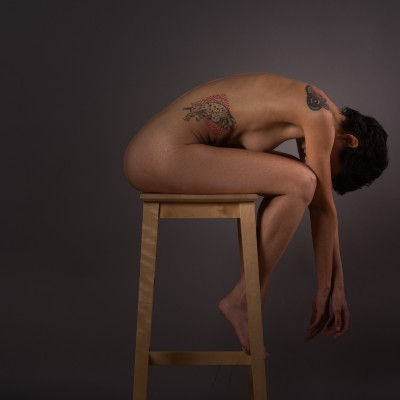 Fran Santucci 0079 - 'On A Chair' Series - © Tekahem, 2016