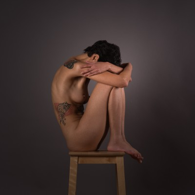 Fran Santucci 0080 - 'On A Chair' Series - © Tekahem, 2016